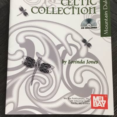 The Celtic Collection Mountain Dulcimer with CD Sheet Music Song Book Songbook