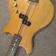 Westone Thunder 1A bass guitar 1984 natural for sale