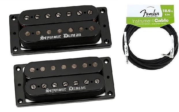 Seymour Duncan Black Winter 7 String Humbucker Passive Mount | Reverb