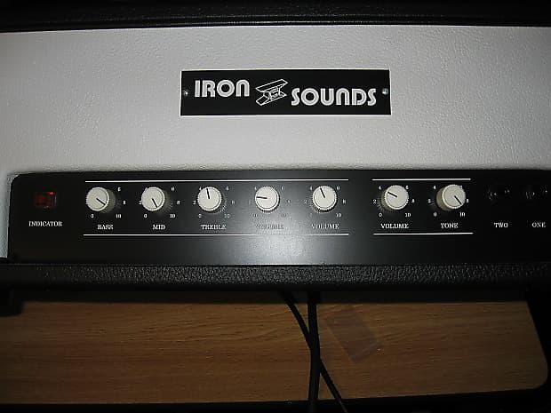Iron Sounds JA-TMB 18 watt TMB clone Guitar Amp Head