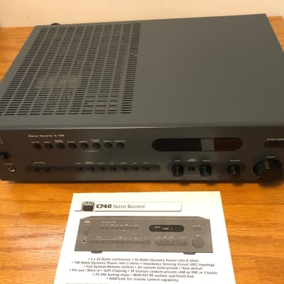 NAD C740 Stereo Receiver