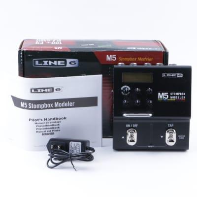 Line 6 M5 Stomp Box Modeler Guitar Multi-Effects Pedal w/ Box P-07881