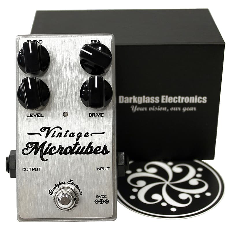 darkglass vintage microtubes bass overdrive pedal geartree reverb. Black Bedroom Furniture Sets. Home Design Ideas