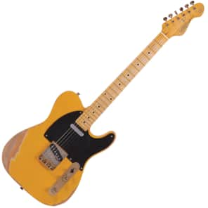 Vintage Icon V52MRBS Distressed Butterscotch