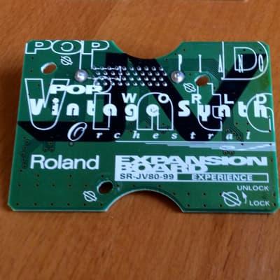 Roland SR-JV80-99 Experience Expansion Board JV1080 JV 2080 etc