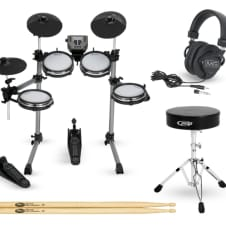 Simmons SD350 Complete Electronic Drum Set with Mesh Pads