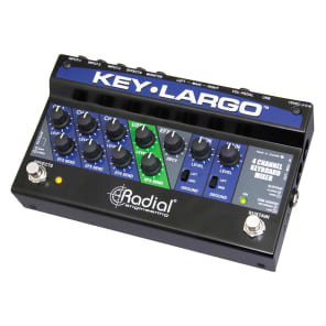 Radial Key Largo Keyboard Mixer Pedal