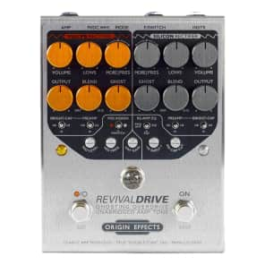 Origin Effects RevivalDrive Custom Ghosting Overdrive with Secondary EQ Controls