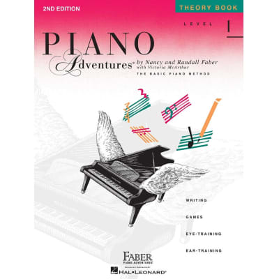 Piano Adventures: The Basic Piano Method - Theory Book Level 1 (2nd Edition)