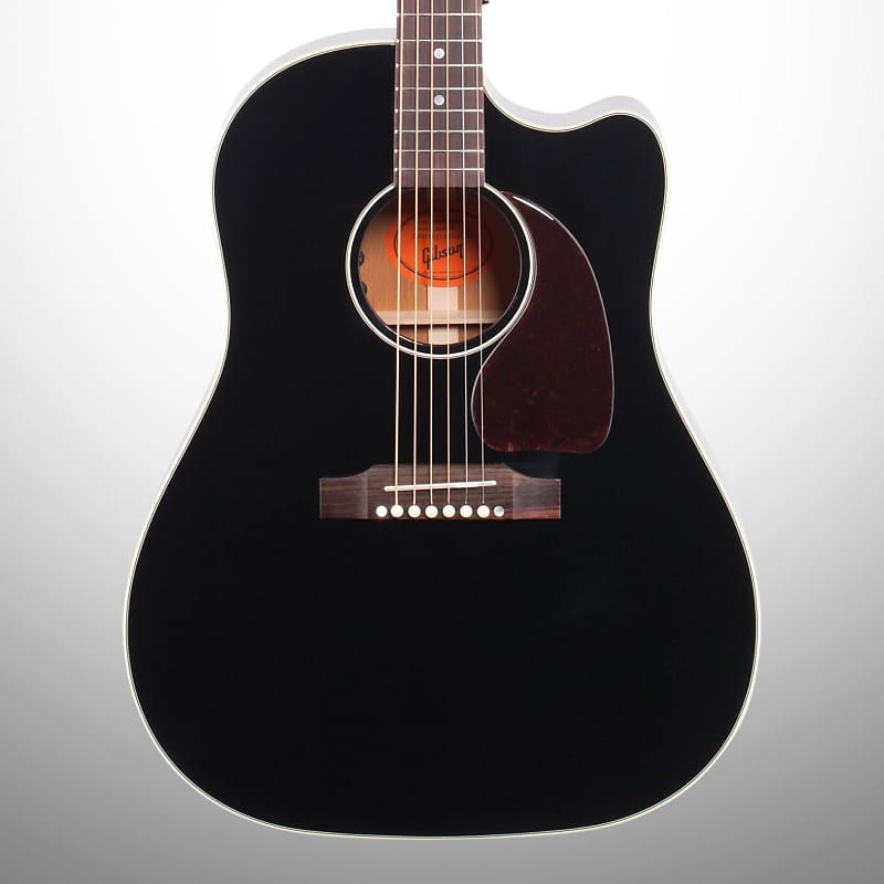 f6ba55fd99d ... J-45 Ebony Cutaway Acoustic-Electric Guitar (with Case), Ebony, Mint.  By Gibson; Listed by zZounds; Condition: Mint; 38 Views. Sold Out!