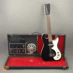 Silvertone 1448 With Case Amp