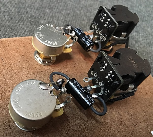 Harness upgrade for gibson les paul with cts push pull pots reverb description shop policies asfbconference2016 Image collections