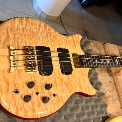 Alembic Stanley Clarke 1998 Quilted Maple Top for sale