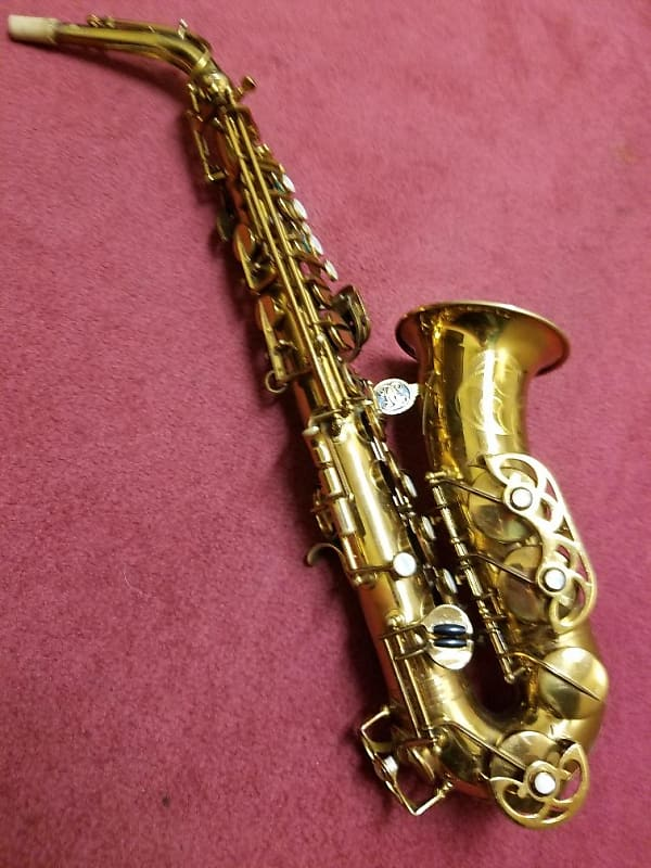 Astonishing Buffet Crampon Super Dynaction Alto Sax 1966 Brass Lacquer Home Interior And Landscaping Analalmasignezvosmurscom
