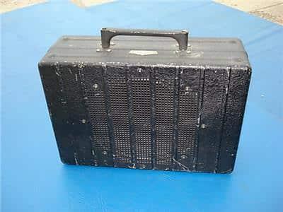 1930s Rickenbacker Lunchbox Guitar Amp W Fender 5F2 A