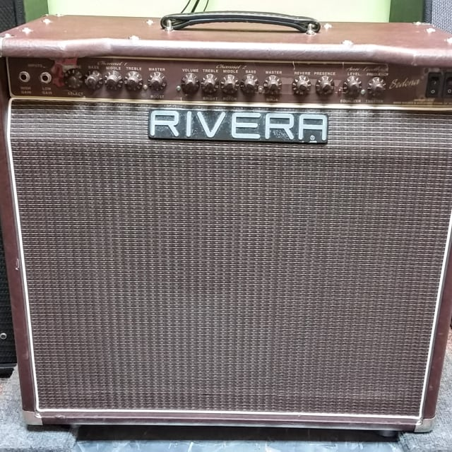 Rivera Sedona 100 all tube acoustic electric guitar amp, includes footswitch image
