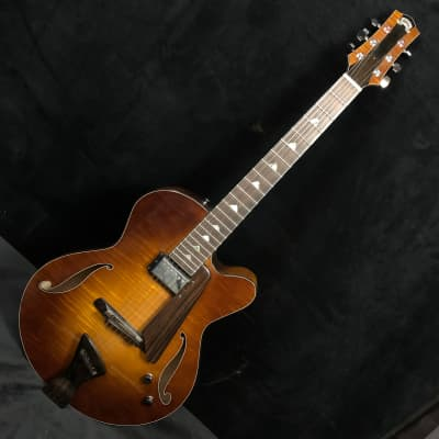 Holst Jazz Hand built archtop electric guitar tobacco burst for sale