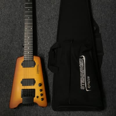 Steinberger Synapse Transcale Movable Capo 2010s Trans Amber for sale