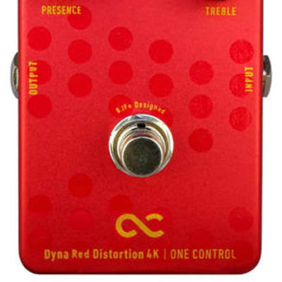 ONE CONTROL Dyna Red Distortion 4K - Distortion