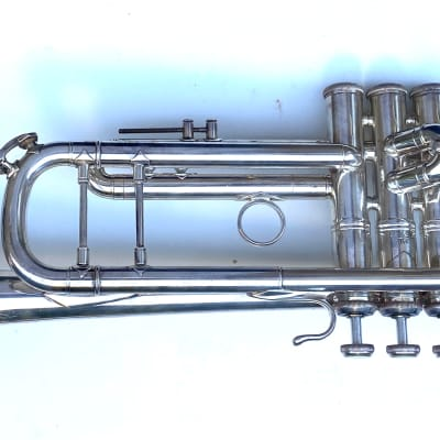 Bach Stradivarius Model 37 Trumpet Early 1970's Silver