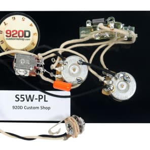 """920D Strat Stratocaster 5-way """"Passing Lane"""" Wiring Harness Push/Pull CRL - CTS"""