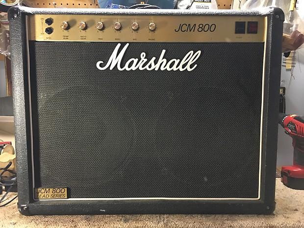 marshall jcm 800 2x12 combo 4104 flight case reverb. Black Bedroom Furniture Sets. Home Design Ideas