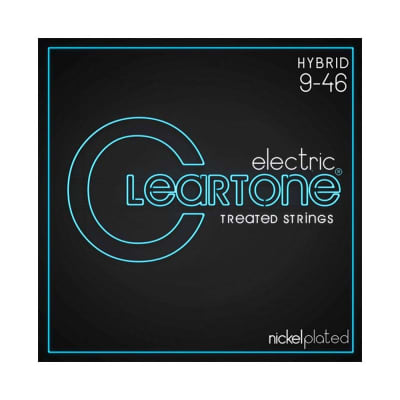 Cleartone Nickel Plated Electric Strings 09-46