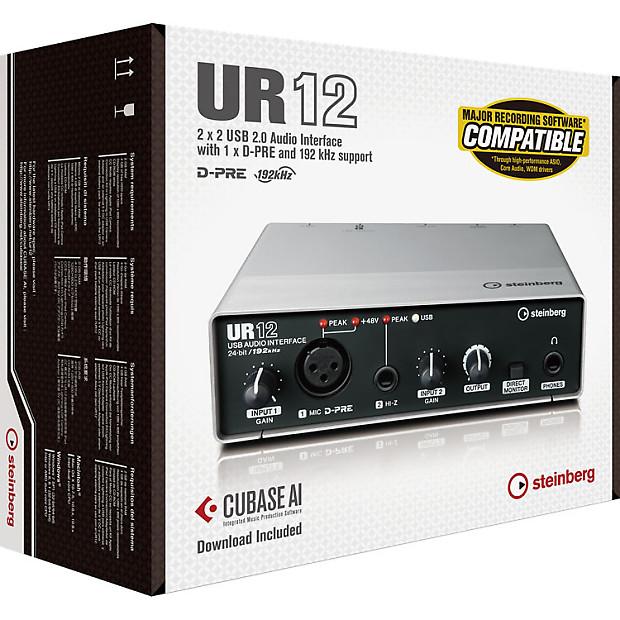 Ur12 Usb Audio Interface Driver : steinberg ur12 usb audio interface with cubase ai daw brand reverb ~ Hamham.info Haus und Dekorationen