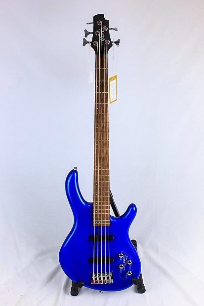 cort action 5 string bass v plus metallic blue reverb. Black Bedroom Furniture Sets. Home Design Ideas