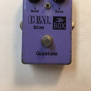 Guyatone PS-106 Dual Octave Box Rare Vintage Guitar Effect Pedal MIJ Japan for sale