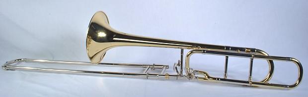 Stagg 77-TD HG F Trigger Trombone Brass