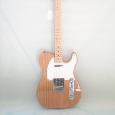 Stadium-Telecaster Style Electric Guitar-NY-9401-Natural Finish-New-w/Shop Setup!