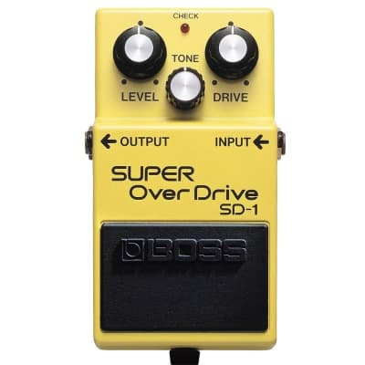 Boss SD-1 Super OverDrive Pedal for sale