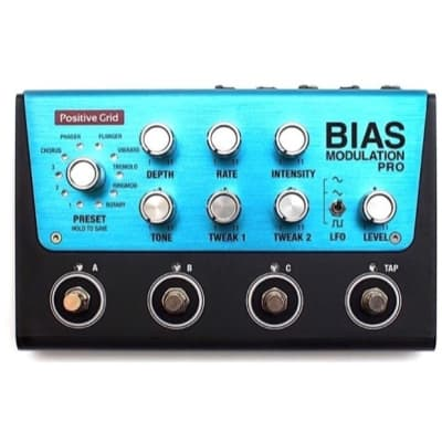 Positive Grid Bias Modulation Pro Pedal, Warehouse Resealed