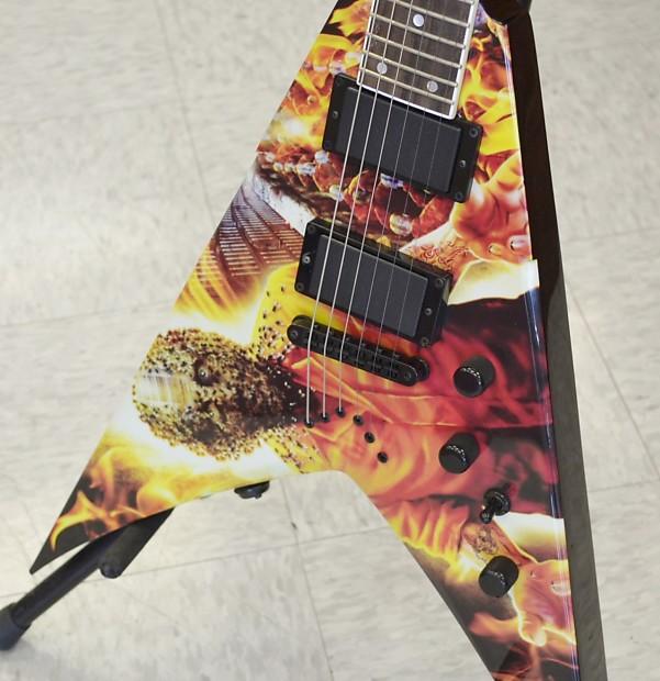 dean v dave mustaine vmnt end game 6 string electric guitar reverb. Black Bedroom Furniture Sets. Home Design Ideas