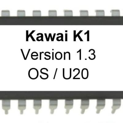 Kawai K1 - Firmware Latest OS Version 1.3 update upgrade EPROM K-1