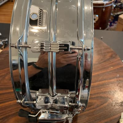 Ludwig Snare drum  90s? Chrome over steel