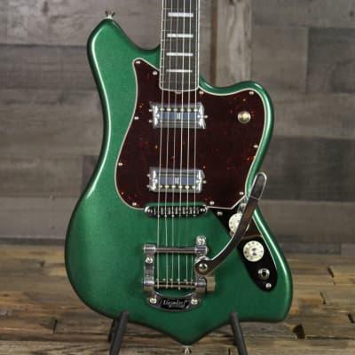 Fender Parallel Universe Volume II Maverick Dorado - Mystic Pine Green for sale