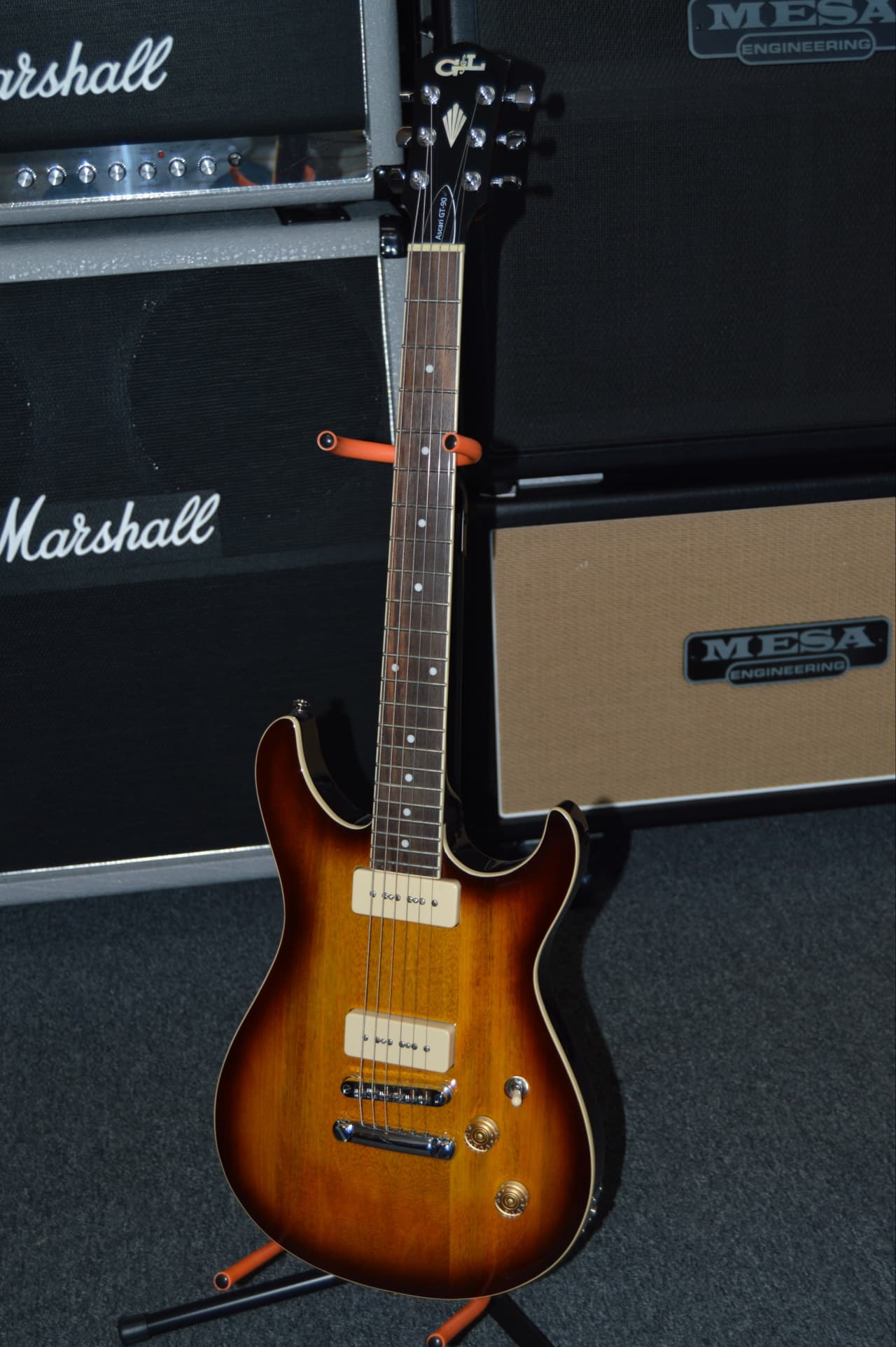 used g l ascari gt 90 tobacco sunburst reverb. Black Bedroom Furniture Sets. Home Design Ideas