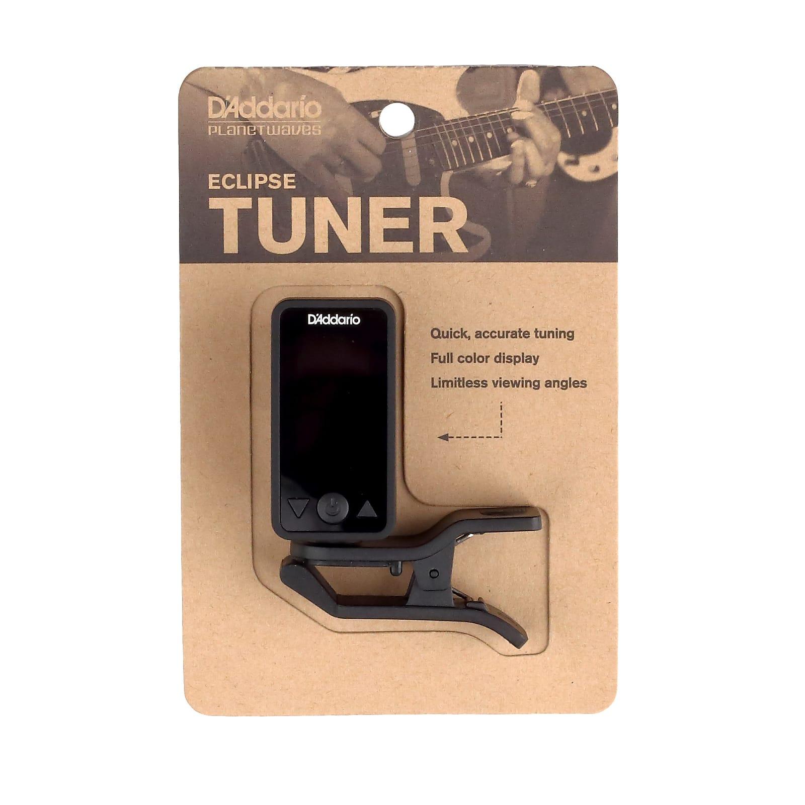 D'Addario Eclipse Headstock Tuner, Black