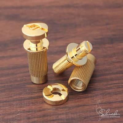 Schroeder Top-Adjustable Locking Studs Gold (SAE or Metric) for sale