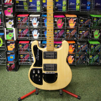 Shergold Meteor Deluxe left handed electric guitar Made in England S/H for sale