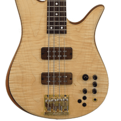 Fodera Monarch Deluxe 4 Flame Maple for sale