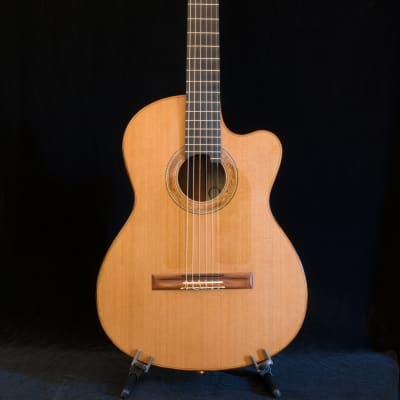 Richard Prenkert Cutaway Nylon String Guitar 2015 Natural for sale