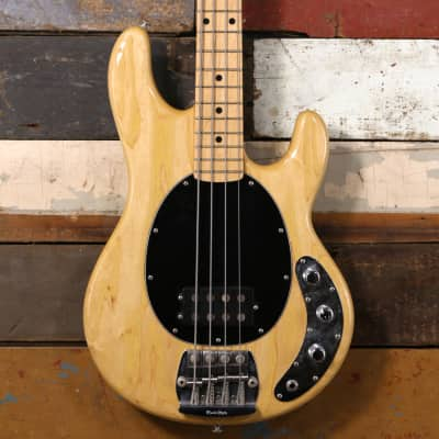 1982 MusicMan StingRay Bass Natural