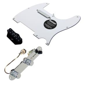 920D Custom Shop 11208-33+T3W-WH Seymour Duncan Little 59/Vintage Stack Loaded Tele Pickguard w/ 3-Way Switching