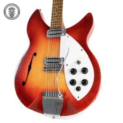 1964 Rickenbacker Rose Morris 1997 Fireglo F Hole for sale