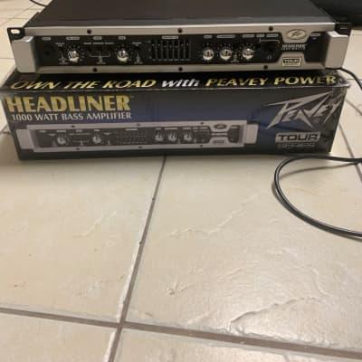 Peavey Headliner 1000 1000W Lightweight Bass Head