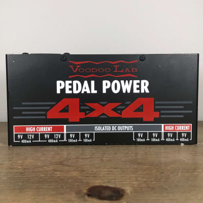 Voodoo Lab Pedal Power 4x4 with Pedaltrain Brackets