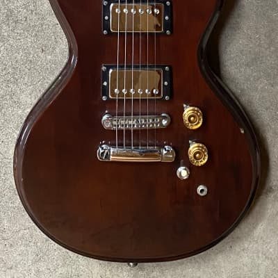 1976 - 1979 Epiphone Scroll SC-350 Japan Walnut Finish Electric Guitar for sale